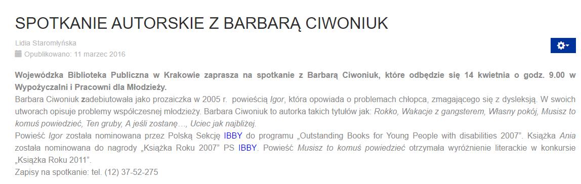 spotk. w Krakowie