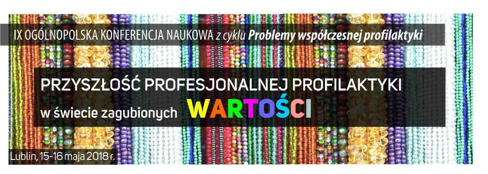IX Ogólnopolska Konf. Naukowa Lublin
